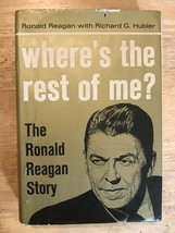 Ronald Reagan Inscribed Autograph 7/27/65 Where's the Rest of Me Signed - $1,016.34