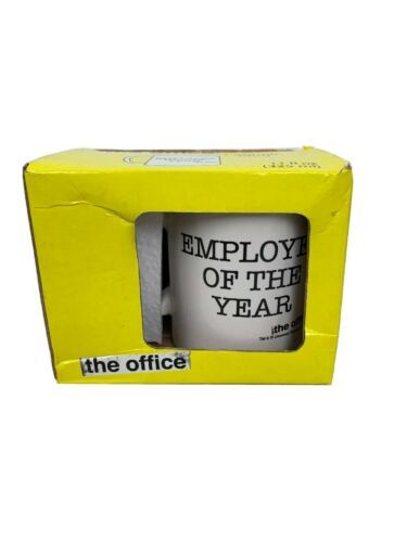Employee Of The Year The Office Coffee Mug Cup NBC Michael Scott