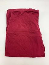 Maroon, One Size, 92% Polyester/8% Spandex Women's Leggings - $6.85