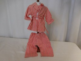American Girl Doll Molly's Retired red and white Striped Pajamas  - $30.72