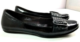 Born Ballet Flats Womens Black Patent Leather Slip On Shoes Size 9 / 40.5 - $44.50