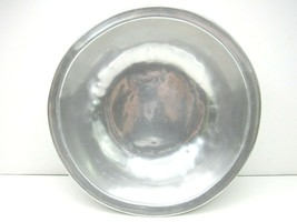 "Vintage RWP Wilton Columbia Pewter 9 1/2"" Round Serving Bowl MCMLXXVI 1976  - $22.34"
