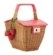 Kate Spade New York Women's Picnic Perfect 3D Wicker Basket, Multi, One ... - $388.00