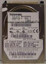 "40GB 2.5"" IDE Drive Toshiba MK4026GAX HDD2193 Free USA Ship Our Drives Work"