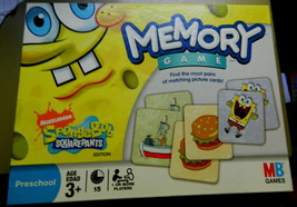 Spongebob Squarepants Memory Game-Unused - $16.00