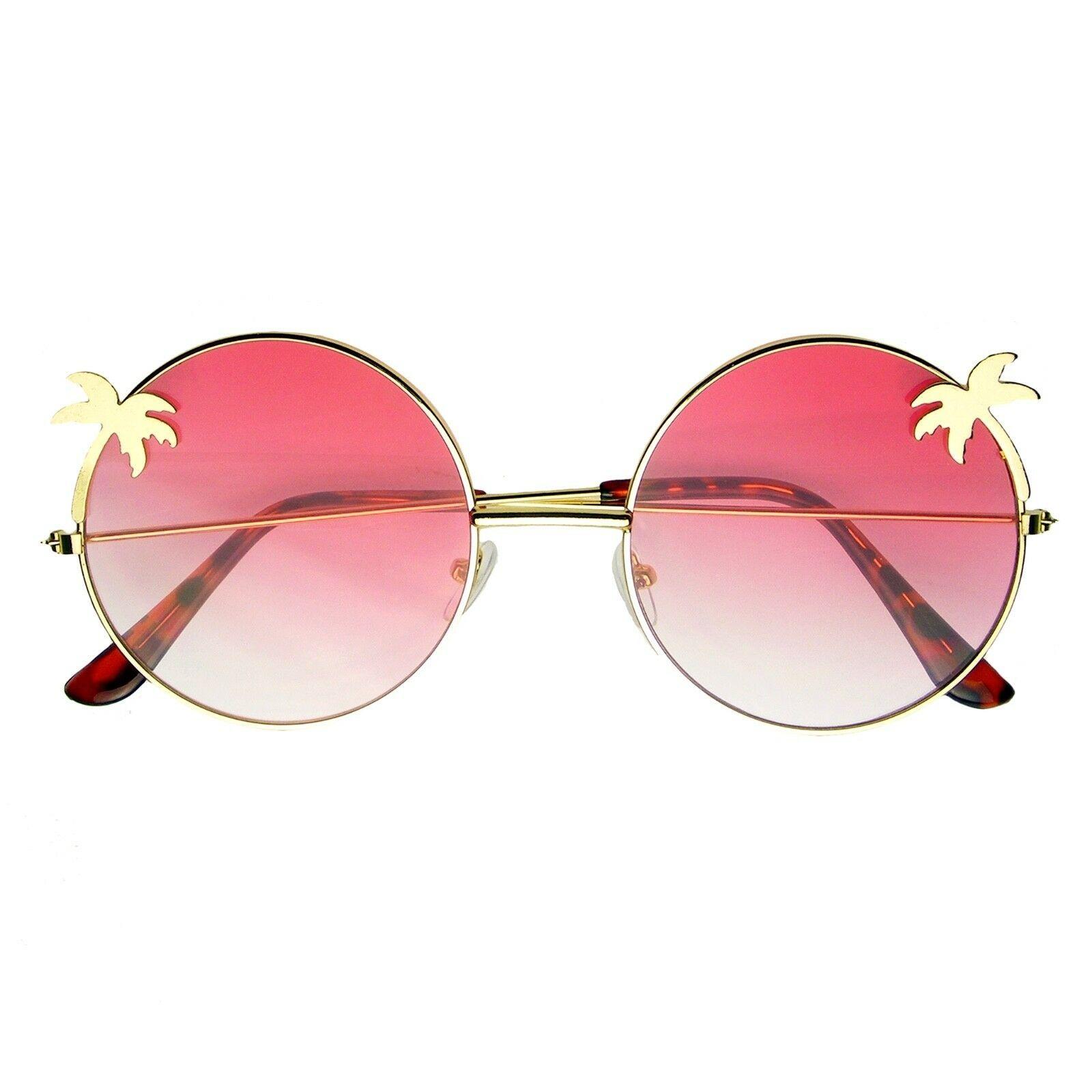 Vintage Retro Round Sun Glasses Hippie Boho Sunglasses image 3