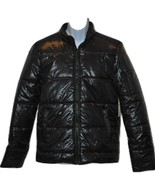 Men's Calvin Klein Jeans Puffy Jacket Charcoal Black LG NWT - $64.00