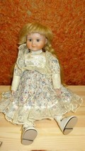 Vintage porcelain doll The classique collection ROSA - $2.00