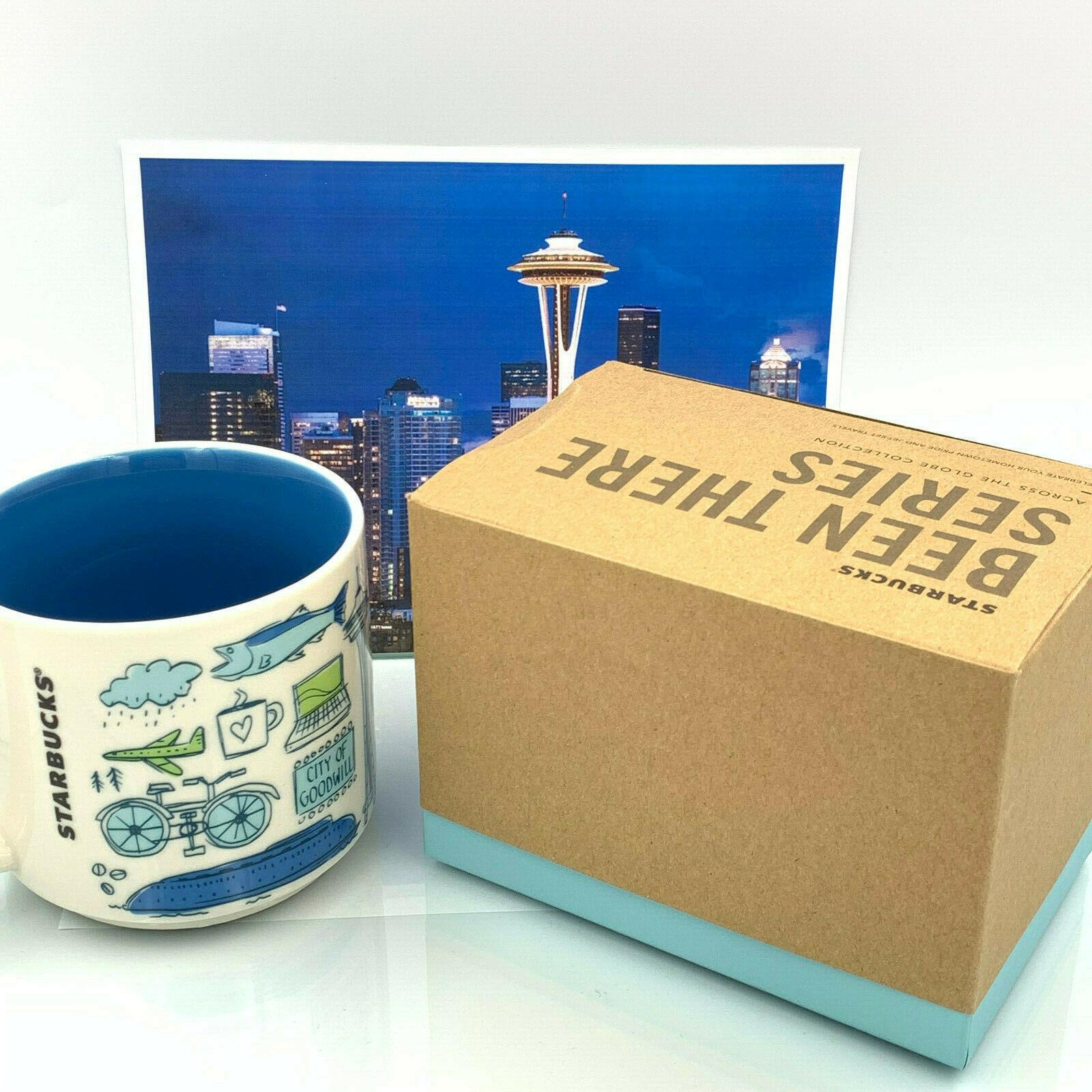 Starbucks Coffee Ceramic Mug Cup USA World Collection Coffee Tea Hot 14 oz Gift image 3