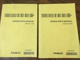 Fanuc Operators Manual - Volumes 1 & 2 - 16 & 18 MB / MB5 - October 2001  - $14.84