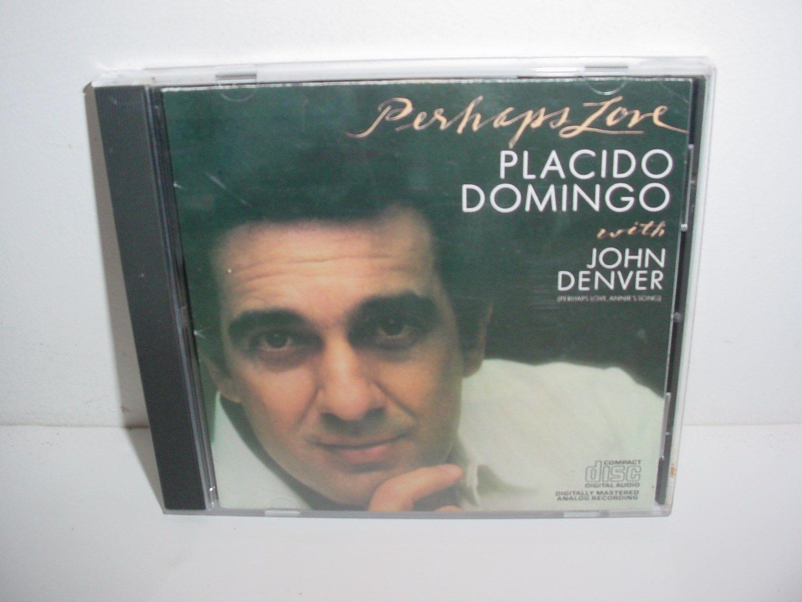 Placido Domingo Perhaps Love John Denver Music CD