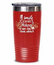 A Smile Is The Best - Birthday Girl - Cool Black Insulated Water Tumbler - $31.67