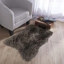 Ottomanson Flokati Collection Faux Sheepskin Lambskin Design Shag Rug, 2... - $20.58