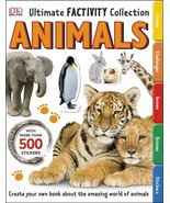 Ultimate Factivity Collection Animals DK 500 Stickers Create Learn Draw ... - $15.83