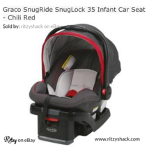 Graco SnugRide SnugLock 35 Infant Car Seat - Chili Red - $98.39
