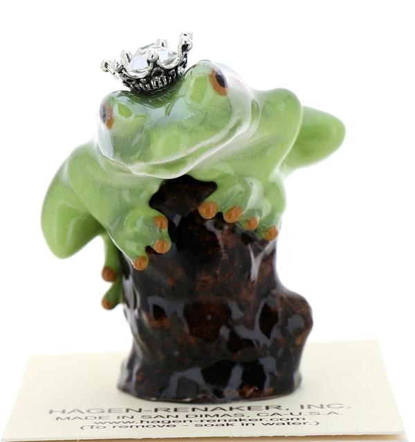 Frog prince on stump49