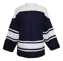 Custom Name # Team Holland Hockey Jersey New Navy Blue Any Size image 4