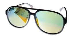 Fila Matte Matte Gray Mens Plastic Aviator Sunglass,  Flash Lens SF9339 ... - $22.49