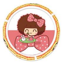 PANDA SUPERSTORE Girly Favorite Cute Cartoon Latex Steering Wheel Cover,(F04) Ye