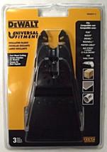 "Dewalt DWA4271-3 Precision Tooth Oscillating Blade 3 Pack 2-1/2"" USA - $17.82"