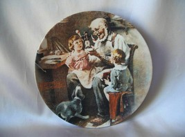 <><  Vintage collector plate Norman Rockwell The Toymaker from 1977 - $6.42