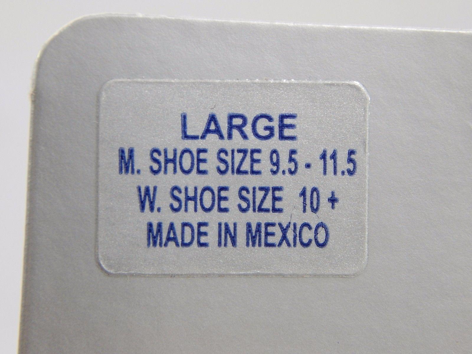 Asics Snap Down Wrestling Sock L Large Size 9.5-11.5 Men/ 10+ Women White/Gray