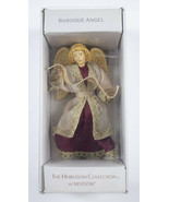 SILVESTRI BAROQUE ANGEL THE HEIRLOOM COLLECTION VINTAGE CHRISTMAS ORNAMENT - $21.77