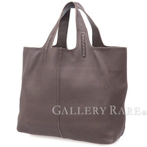 BOTTEGA VENETA Tote Bag Intrecciato Large Brown Leather 145166 Authentic... - $670.00