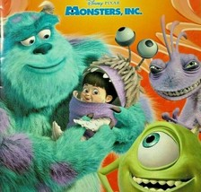 Disney on Ice Monsters Inc Coloring Book Boo Sulley Mike Randall Pixar - $11.98