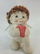 Dreamsicles Cherub Angel I Love You Heart  Kristin Figurine 1991 Cast Ar... - $8.95