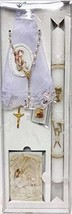 First Communion Girls Gift Set Missal - Prayer Book Handkerchief Candle ... - $39.97