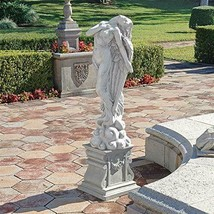 """40.5"""" GARDEN STATUE Sculpture Angel Ascending Pulled to the Heavens Larg... - $380.00"""