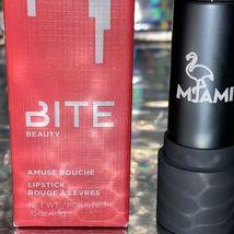 NEW IN BOX Bite Beauty Amuse Bouche Full Size MIAMI Lipstick 4.35g image 4