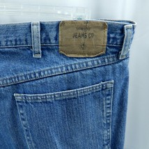 Wrangler Mens Blue Jeans W40xL31 Faded 5 Pocket Style Straight Leg - $21.77
