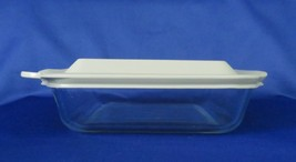 Pyrex Clear Covered Baking, Brownie Pan 222 - $14.00