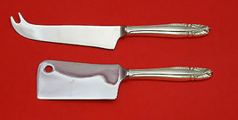 Stradivari by Wallace Sterling Silver Cheese Server Serving Set 2pc HHWS  Custom - $109.00