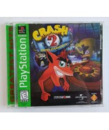 Crash Bandicoot 2: Cortex Strikes Back Sony PlayStation 1 PS1 Complete i... - $29.58