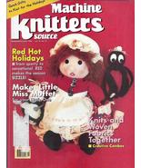 Machine Knitters Source Nov Dec 1996 Magazine Little Miss Muffet Doll Ho... - $4.98