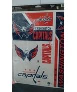 Washington Capitals NHL Hockey Champions Ultra Decal Sticker Set Sheet NIP - $9.50