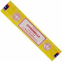 ABN Fashion Satya Citronella Sticks Incense Natural Fragrance Hand Rolle... - $17.54
