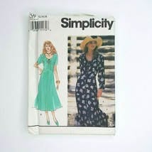 Simplicity 8904 Sewing Pattern Misses Petite Dress 12-16 - $9.89