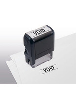 Void Stock Title Stamp - $12.50