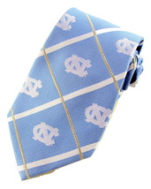 North Carolina Tarheels Mens College Silk Necktie University Logo Blue N... - $34.95