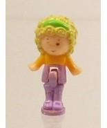 1990 Vintage Lot Polly Pocket Doll Figure Polly's Hair Salon - Polly Blu... - $7.50