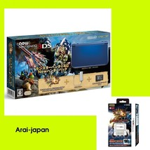 New  3DS LL XL Monster Hunter 4G Box  Hunter Pack & Expansion Slide Pad - $308.64