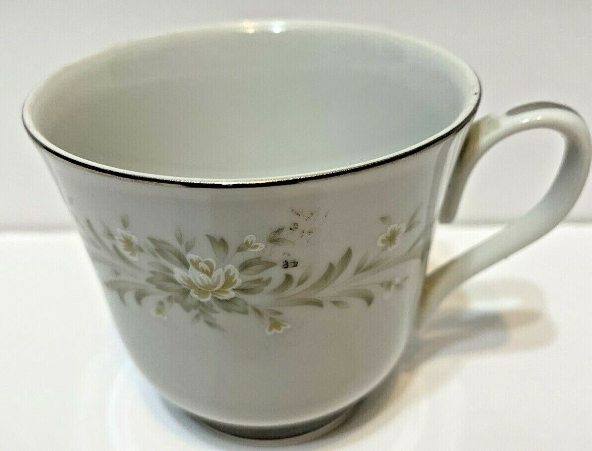Grace Fine China Rhapsody Coffee Tea Cup Floral Design - $11.61