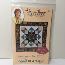 Wish Upon a Star Quilt Pattern Quilt in a Day Three Hour Star - $11.64