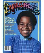 Dynamite Magazine #117 ~ 1984 ~ Gary Coleman Magazine w/ Ape Poster - $9.89
