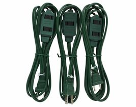 Lot of 2 Westinghouse 3 Packs 6 ft. Indoor Holiday Decor Outlet Extension Cords image 3
