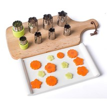 Vegetable Cutter Mold Stainless Steel Puzzle Fruit Flower Shape Kitchen ... - €8,68 EUR